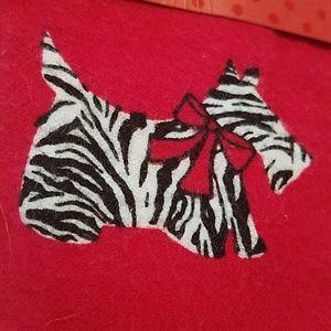 Charter Club Intimates & Sleepwear - Animal Print Scottie Dog Flannel Pajama Set XXL